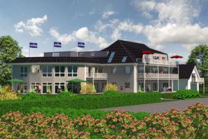 Ferienappartements buchen in der neuen Anlage Elbaussicht an der Elbe