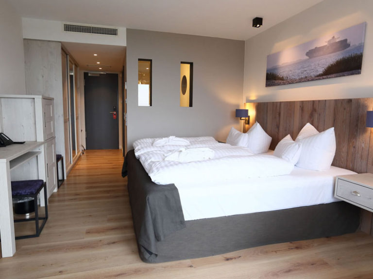 Komfortzimmer mit Elbblick