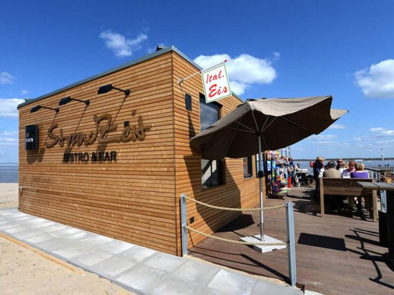 Bistro und Bar StrandZeit - Strandbar an der Elbe