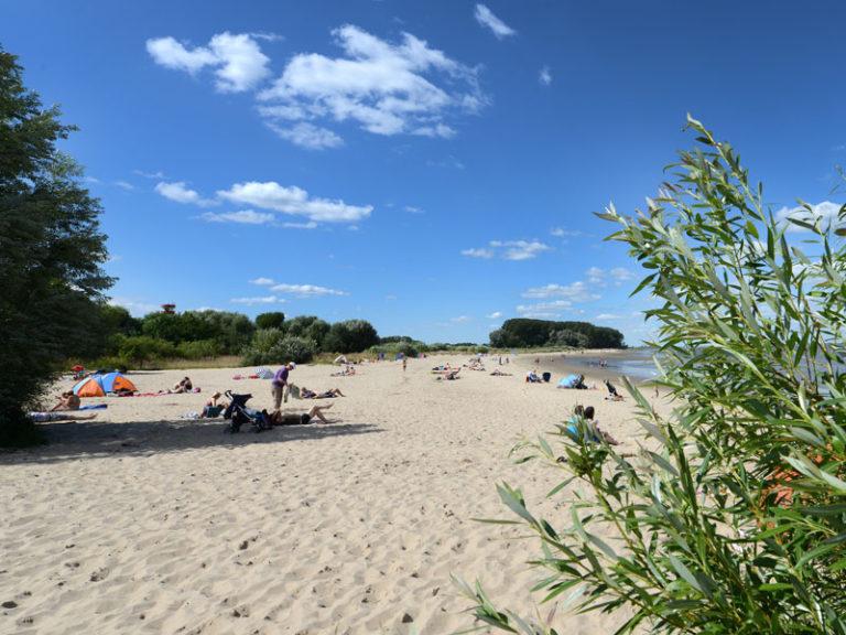 Urlaub auf Krautsand an der Elbe