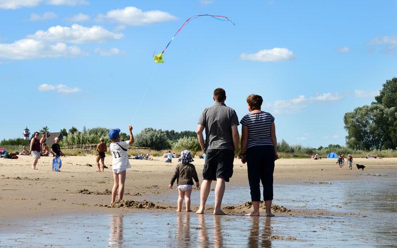 Familienurlaub auf Krautsand mit Kindern und Babys
