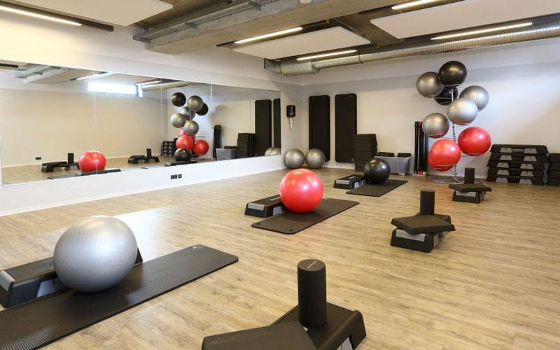 Fitness im Elbstrand Resort - Kursraum - Fitnessraum