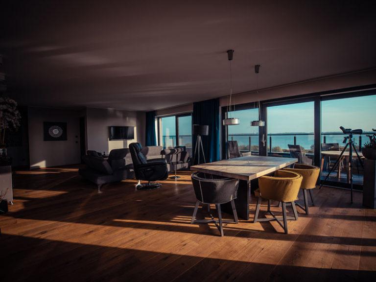 Admiral Suite - Location an der Elbe