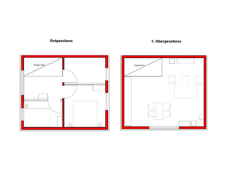 Grundriss Maisonette Wohnungen