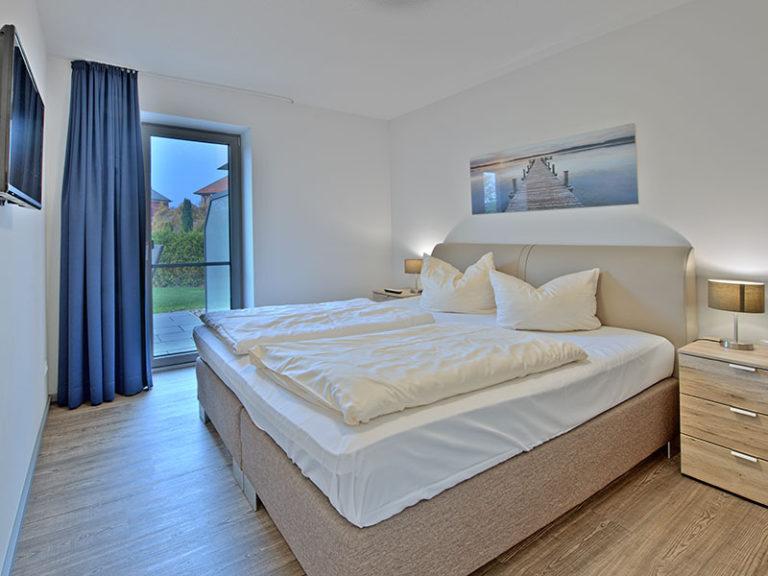 Ferienwohnung D2 R2 Schlafzimmer