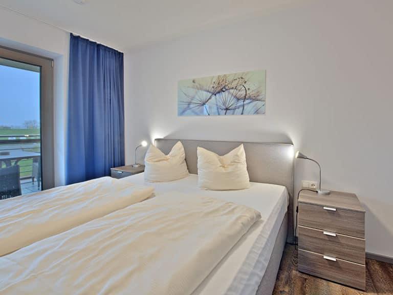 Ferienwohnung D3 R3 Schlafzimmer