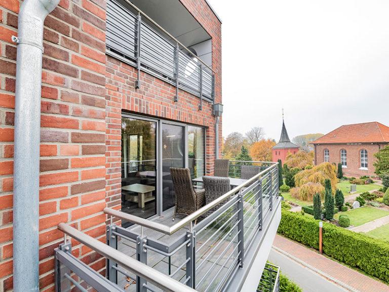 Ferienwohnung D4 R3 Balkon