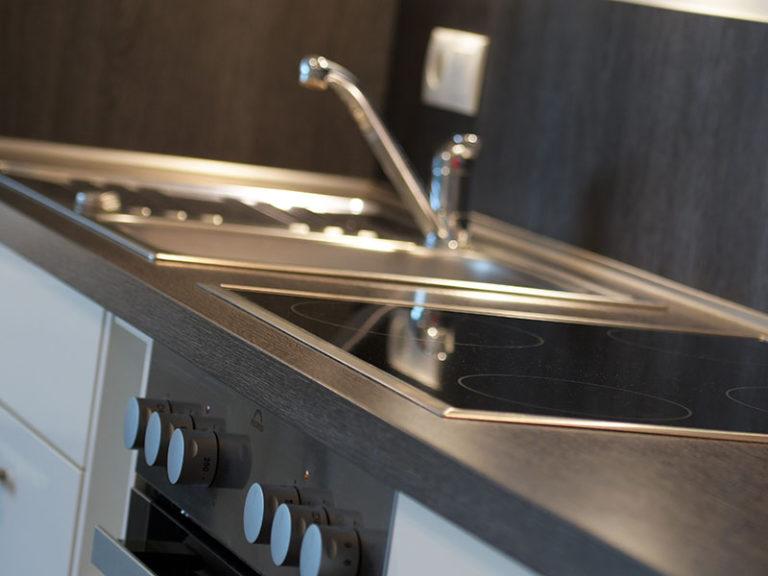 Ferienwohnung D4 R3 Küche