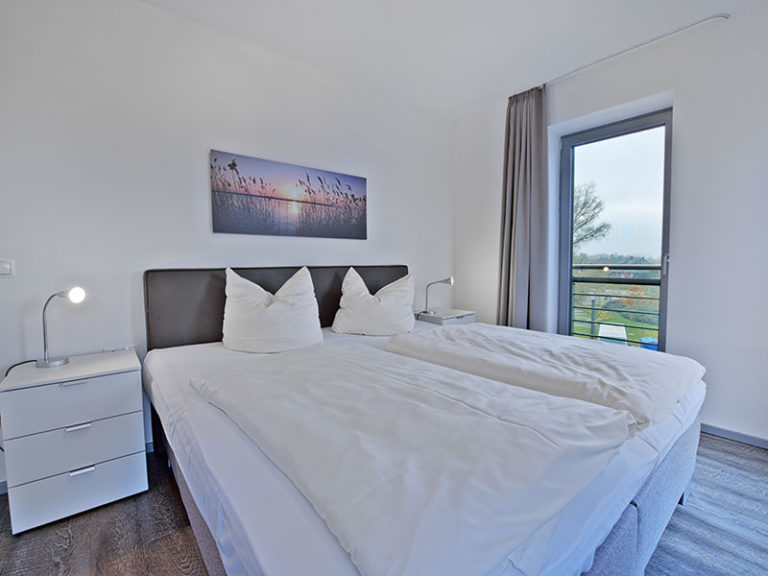Ferienwohnung D4 R3 Schlafzimmer