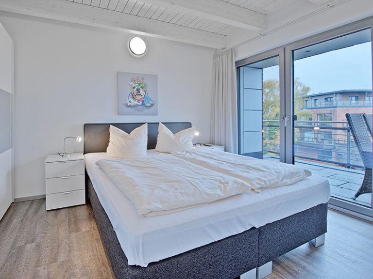Ferienwohnung D5 R2 Schlafzimmer