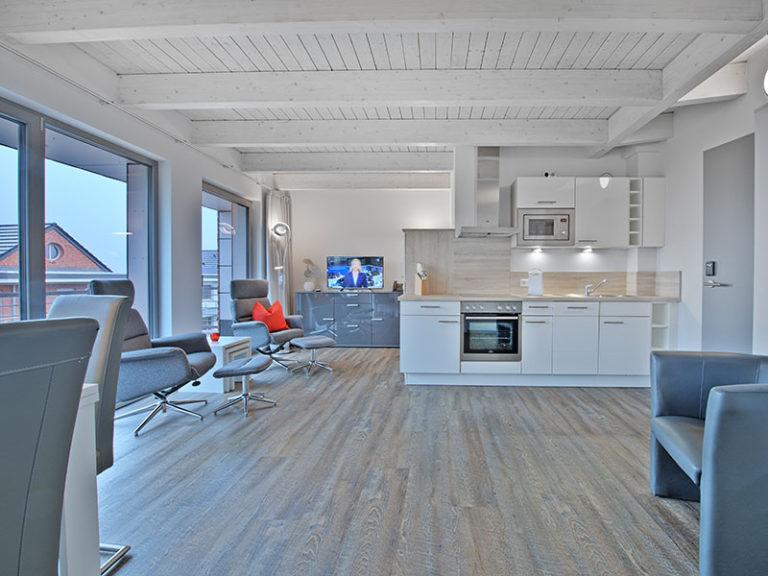 Ferienwohnung D5 R2 Küche