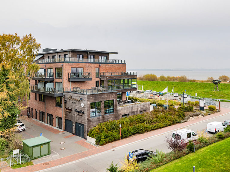 Ferienwohnung D5 R3 Ausblick Elbstrand Resort