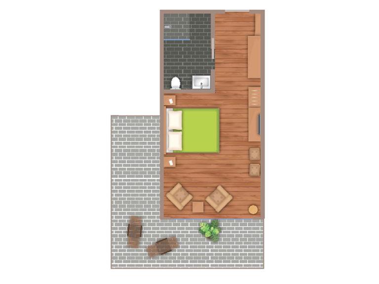 Elbpanorama Zimmer Grundriss