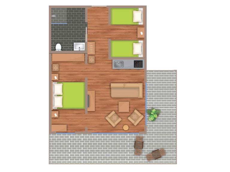 Matrosen Suite Grundriss