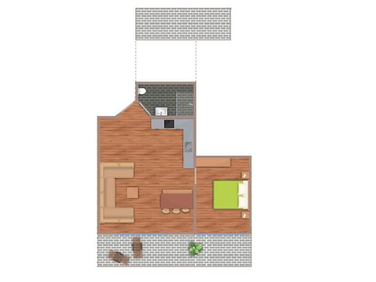 Segelmacher Suite Grundriss