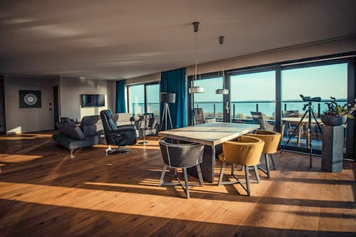 Luxus Admiralsuite im Elbstrand Resort